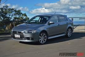 mitsubishi sportback 2013 mitsubishi lancer ralliart sportback review video