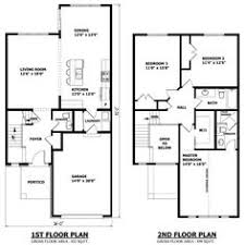 two story small house plans small 2 storey house plans pinteres
