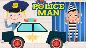 the police catch thieves police car for kids cartoon sergeant
