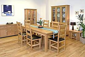 oak dining room sets light oak dining tables mitventures co