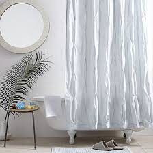 White Shower Curtains Fabric 19 Best Shower Curtains Images On Pinterest Shower Curtains