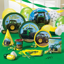 colors stylish john deere birthday party invitations with