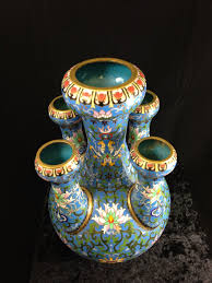 Antique Cloisonne Vases Asian Antiques