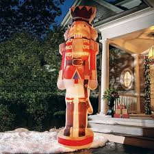 massive 12 foot tall inflatable nutcracker the green head