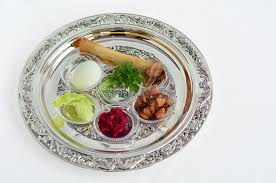 seder meal plate passover seder plate stock photo image 43628747