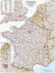 Nd Road Map Download Map Of Netherlands Belgium And France Major Tourist