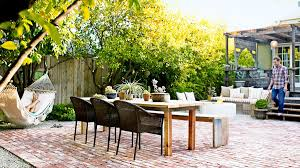 Landscape Ideas For Small Backyard by Small Yards Sunset