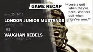 junior mustangs ljm peewee junior mustangs j v canada