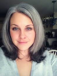 salt and pepper hair with lilac tips mature pinteres