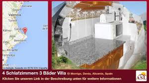 Schlafzimmerm El Eiche 4 Schlafzimmern 3 Bäder Villa Zu Verkaufen In El Montgo Denia