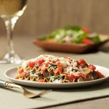 slow cooker vegetarian lasagna recipe eatingwell