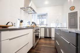 what are slab kitchen doors modern white and grey slab door kitchen contemporary