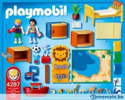 chambre enfant playmobil playmobil 4287 chambre des enfants a vendre 2ememain be