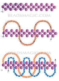 free pattern for necklace storm 2 u need seed beads 6 0 or
