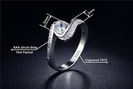 silver nice rings images Atreus vintage cz nice jewelry women silver color rings with 925 jpg