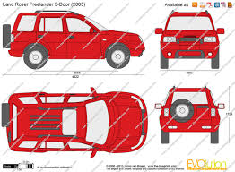 land rover freelander 2006 the blueprints com vector drawing land rover freelander 5 door