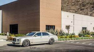 bentley mulsanne matte black bentley mulsanne stays graceful on 22
