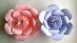 how to make paper flowers for decoration easy hanging paper flowers
