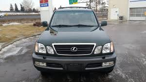 lexus lx for sale edmonton for sale 1999 lexus lx470 loaded no accidents stock 9 500 00