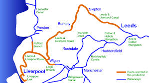 map uk leeds leeds liverpool canal cruising map in memory map qct format