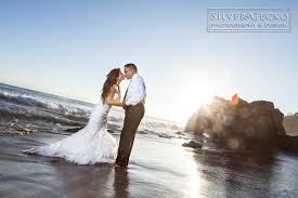 malibu trash the dress session eddie u0026 terry u2013 el matador beach