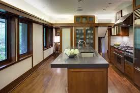 Prarie Style Evanston Prairie Style House Renovation Modern Kitchen