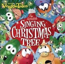 veggietales incredible singing christmas tree amazon com music