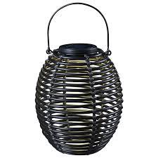 Solar Landscape Lights Home Depot by Amazon Com Kenroy Home 60530rat Coil Solar Lantern Black Home