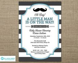 top 12 free mustache baby shower invitation templates for your
