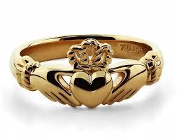 ring claddaghring amazing claddagh ring set gold claddagh ring