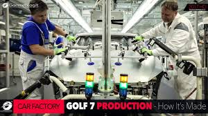 volkswagen mexico plant how it u0027s made volkswagen vw golf 7 car factory production plant
