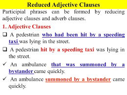 a used car participial phrases ppt video online download
