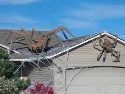 Halloween Outdoor Decorations Renew Giant Spiders Halloween Decor 25 Halloween Outdoor