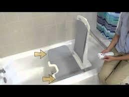 Bathtub Cutaway Drive Medical Bellavita Auto Bath Tub Chair Seat Lift White