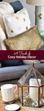 a touch of cozy holiday decor