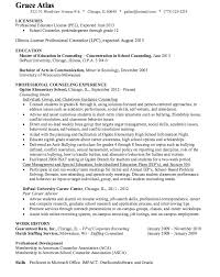 Education In Resume Sample by Create My Resume Resume Examples Chemical Dependency Counselor
