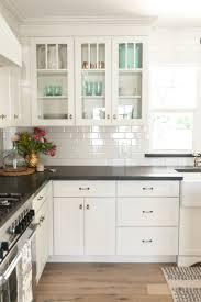 White Kitchen Backsplashes White Shaker Kitchen Cabinets Full Size Of Woodmark Kitchen