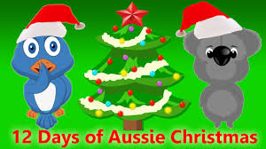 australian 12 days of christmas christmas songs for children