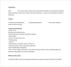 birth plan template you can read my birth plan and get a blank