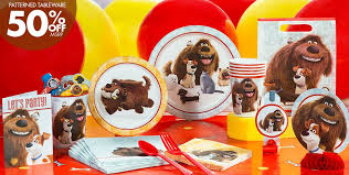 the party supplies secret of pets party supplies secret of pets birthday