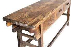 Reclaimed Wood Console Table Pottery Barn Nice Reclaimed Console Table With Griffin Reclaimed Wood Console