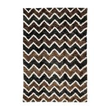 brown u0026 black chloe shag carpet madeline weinrib