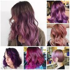 hair color pics highlights multi purple best hair color ideas trends in 2017 2018