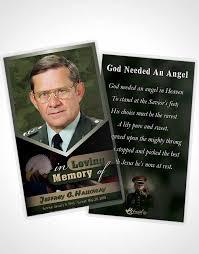 2 page grad fold funeral program template brochure 1st veterans