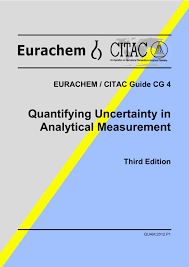 eurachem citac guide cg4 quantifying measurement uncertainty in