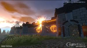 castle siege crowfall pre alpha testing for castle siege begins mmohuts