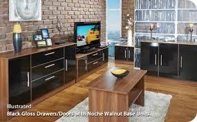 Black Living Room Furniture Uk Buy Welcome Living Room Furniture Sideboard Wide 2 Door 3 Drawer