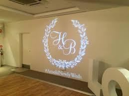 Wedding Gobo Templates Monogram Logo Designs Dj Brad Brisbane Mobile Dj