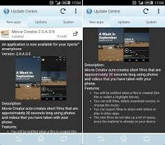 theme creator z2 sony movie creator 2 0 a 0 9 app update rolling on xperia z2