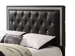 install a black headboard and make the bed more comfortable
